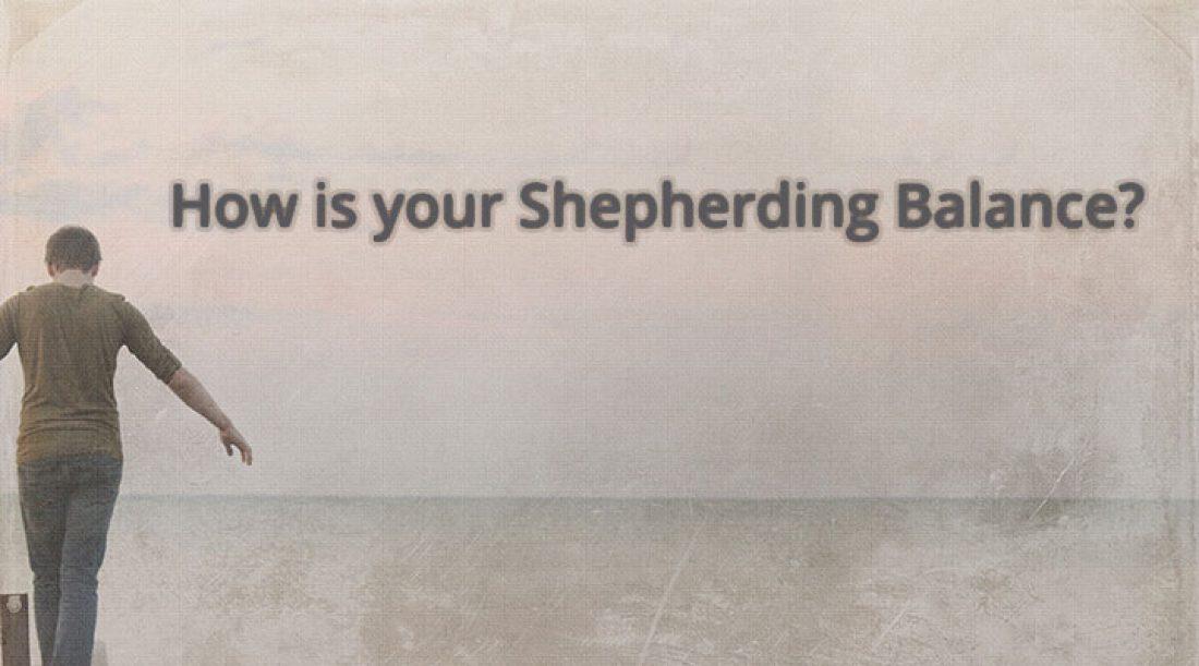 Balanced Shepherding Among Elders
