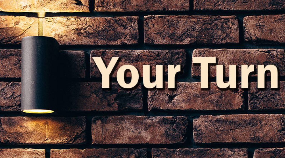 Your Turn: January 8, 2016